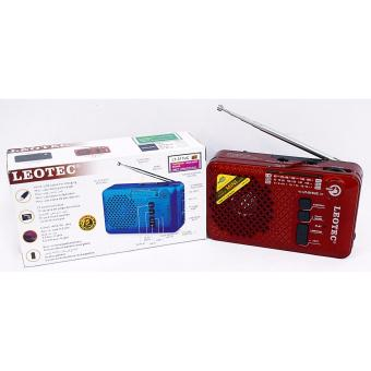 Harga LEOTEC RADIO LT-521UC WITH FM/AM/SW 3 BAND RADIO RECIVER AND USB/TF CARD MUSIC PLAY