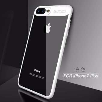 iPaky Soft Silicone Frame + Acrylic PC Clear Case for iPhone7 Plus - intl