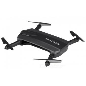 JXD 523 Tracker Foldable WIFI FPV RC Quadcopter HD Selfie Drone (Black)