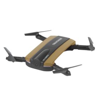 JXD 523 Tracker Foldable WIFI FPV Rc Quadcopter HD Selfie Drone(Gold)