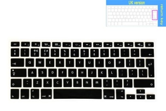 Keyboard Protector For Apple Mac 13/15 Inchs Air / Pro / Retina(Euro)(Black)