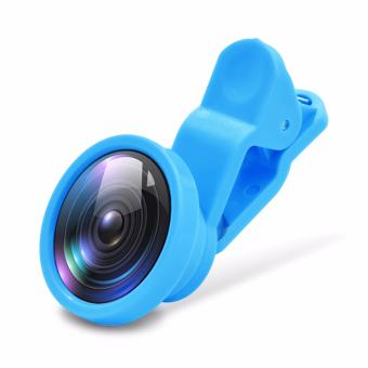 Kingdo 180 Degree 3 in1 Clip Camera Lens Fish Eye Wide Angle Macro Lens for Smartphone Tablet PC