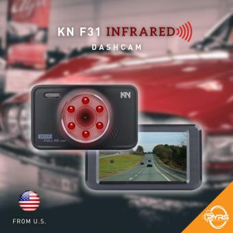 KN F31 DVR Vehicle Blackbox Infrared Car Dashcam