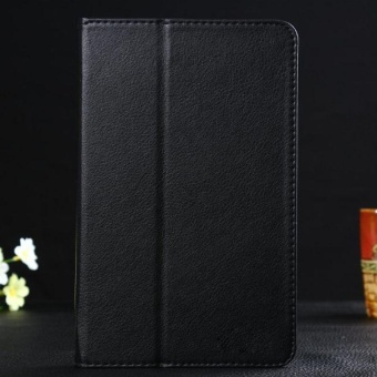Leather Case Cover for Lenovo IdeaTab A8-50 A5500 8 Inch TabletBlack - intl Price Philippines