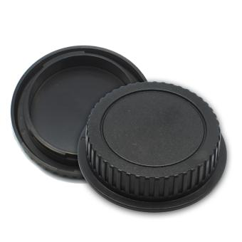 Lens Rear Cap and Camera Body Cap Set for Canon- Intl