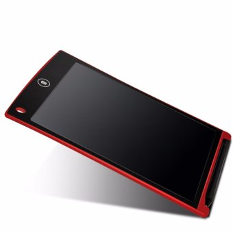 LHR HSD1200 Ultra-thin One Button LCD Writing Tablet (Red)