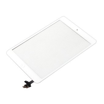 LL Trader Original Quality Touch Screen Front Glass Replacementwith IC Digitizer (White) + Free Tools for Apple iPad Mini 1&2