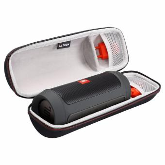 LTGEM Portable EVA Hard Case, Travel Storage Carrying Bag for JBLCharge 2 & Charge 2 Wireless Bluetooth Speaker, with Mesh pocket Fitting Plug & Cables