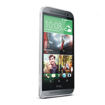 Luxury Aluminum Bumper Metal Phone Case for HTC One M8 (Silver)intl