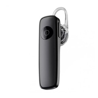 M165 Bluetooth V4.0 Stereo Smartphone Headset for iphone Android(Black)