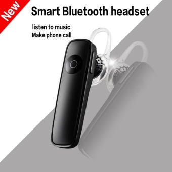 M165 Wireless 4.1 Bluetooth Earphone Hands-free Stereo Headset withNoise Cancelling MIC All Mobile Phone and Other Bluetooth Devices -Black Price Philippines