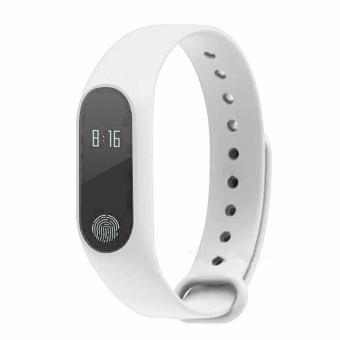 M2 Smart Bracelet Heart Rate Monitor Bluetooth Smartband Health Fitness Tracker Smart Band OLED Screen IP67