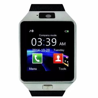 M9 Intelligent Phone Quad Smart Watch with Sim Card Slot(Black/Silver)