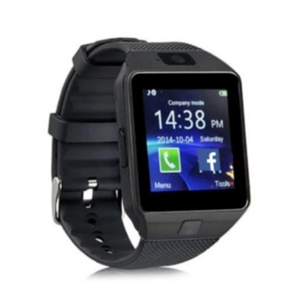 M99 Quad Bluetooth Touch Screen Smart Watch (Black)