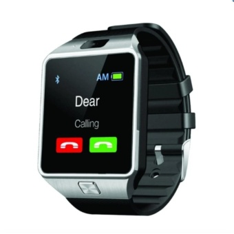 M99 Quad Bluetooth Touch Screen Smart Watch (Silver)