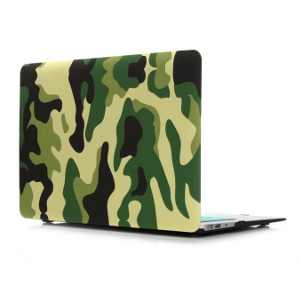 MacBook Pro 13 Inch A1706/A1708 Plastic Pattern Hard CaseCamouflage [Come With Keyboard Cover] MacBook Pro 13 Inch (GreenCamouflage) - intl Price Philippines