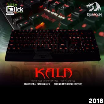 Redragon Kumara K552 Rgb Tkl Black Mechanical Keyboard Philippines