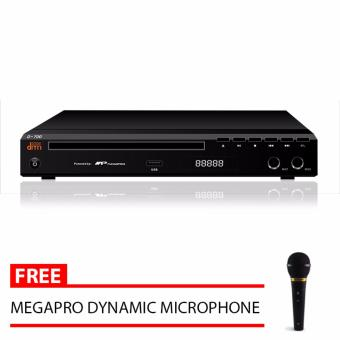 Megapro Doremi D-700 Karaoke DVD Player (Black) with Free MegaproMicrophone Price Philippines