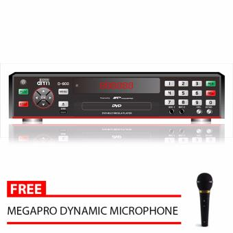 Megapro Doremi D-800 DVD Karaoke Player (Black) with Free MegaproMicrophone Price Philippines