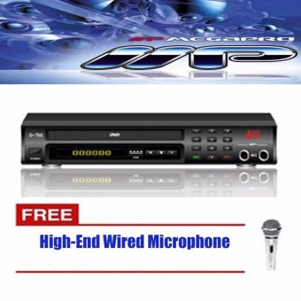 Megapro Doremi DRM D-750 Karaoke Player (Black) Up to 9,000 Songswith MTV's and MP3's Price Philippines
