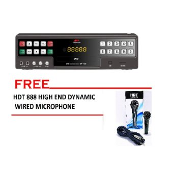 Megapro MP-1000 Karaoke Player (Black) with dynamic hi-end pro hdtmicrophone Price Philippines