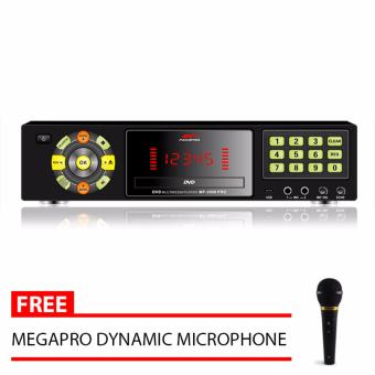 Megapro MP-2000 PRO DVD Karaoke Player (Black) with Free MegaproMicrophone Price Philippines