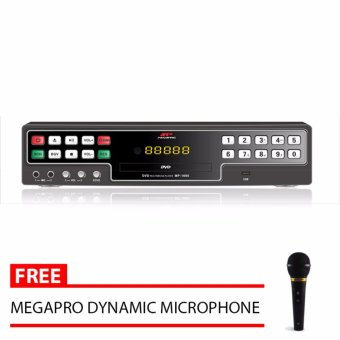 Megapro MP1000 DVD Karaoke Player Free Megapro Microphone