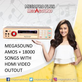Megasound Megapro Plus Amos+ DVD Karaoke Player with 18000 Songs,HDMI Video Output, Free Microphone, Free HDMI Cable Price Philippines