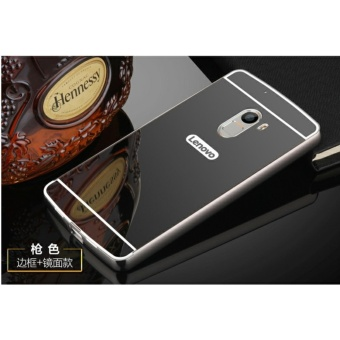 Metal Bumper and Mirror PC Back Cover Case For Lenovo K4 Note - intl