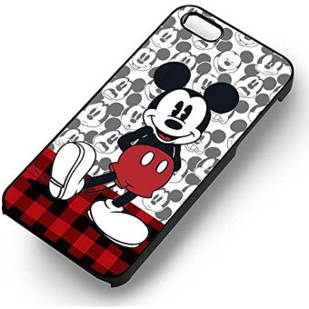 Mickey Mouse Cute for Iphone 6 and Iphone 6s Case (White Rubber Case) - intl