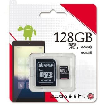 Micro Sd Class 10 Memory Card 128GB SDHC UHS-I Tf Card Micro Sd Card - intl