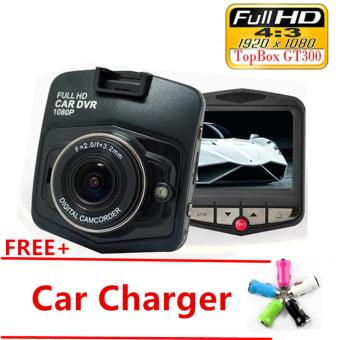 Mini Car DVR Camera GT300 Camcorder 1080P Full HD Video Registrator Parking Recorder G-sensor Dash Cam(Black) - intl