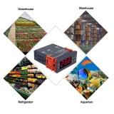Mini Digital Temperature Controller 220V 10A LCD Display Thermostat for Refrigerators Farms - intl - 3
