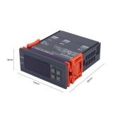 Mini Digital Temperature Controller 220V 10A LCD Display Thermostat for Refrigerators Farms - intl - 4