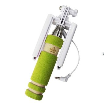 MINI Foldable All-In-One Monopod with Remote Clicker (Green)