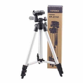 MM Professional Tripod w/ 3-Way Panhead for SLR or DSLR cameras /Camcorder TF with FREE Cat Plush