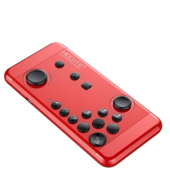 Mocute-055 Bluetooth Gamepad for Strike of Kings Game Joystick ofHand Console 4 Android iOS Smart Phone Mobile TV Box PC (Red)