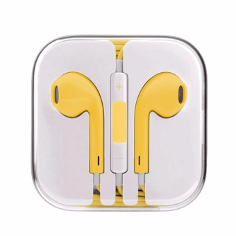 Model Stereo In-Ear Headphones (Yellow)