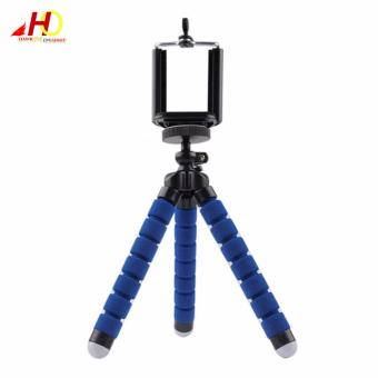 Monkey Pod Flexible Mini Tripod for DSLR, DSC, Camcorder (Blue)