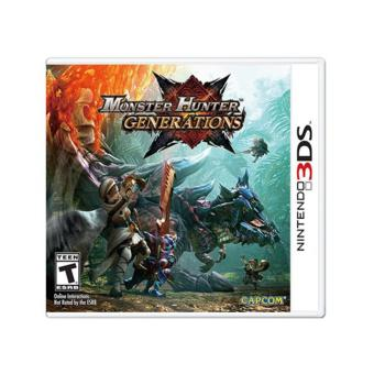 Monster Hunter Generations NINTENDO 2DS 3DS GAME BNEW CONDITION