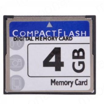 Moonar Highspeed 4GB Compact Flash Memory Card CF Card For Camera Price Philippines