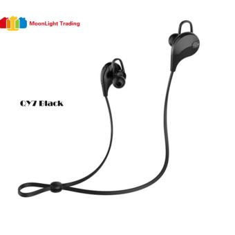 Moonlight QY7 Made for Sports Sweatproof Bluetooth in-Ear Headset(BLACK)
