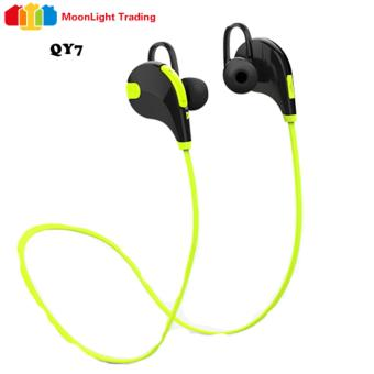 Moonlight QY7 Made for Sports Sweatproof Bluetooth in-Ear Headset(Green)