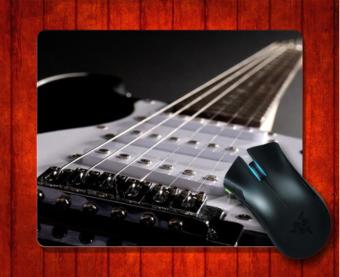 MousePad Electric Guitar Music for Mouse mat 240*200*3mm Gaming Mice Pad - intl