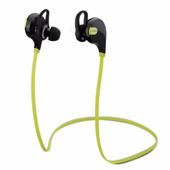 Mpow Swift Bluetooth Headphone 4.0 Stereo Sweat proof Sport w/ MicCalling Hands-free (Black/Green)