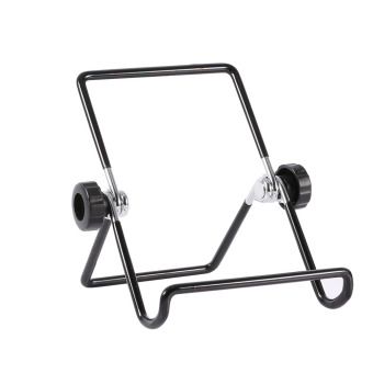 Multi-angle Adjustable Portable Foldable Metal Non-slip Stand Holder for iPad Tablet (Small Size) - intl