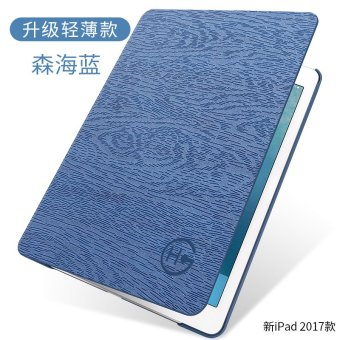 Multi-Function Standing Tablet Auto Sleep / Wake ShockproofTri-fold PU Leather Flip over Tablet /Pad Case / Smart Cover Casefor Apple 2017 New iPad 9.7-inch/ Apple iPad 9.7-inch (2017) -intl