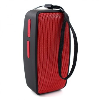 N10 U Mini Bluetooth Speaker with FM Function (Red)
