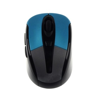 New 2.4G 1600DPI Optical Mini Wireless Mouse Mice For Laptop PC BU- intl Price Philippines