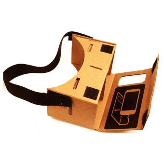 New Google Cardboard Valencia Quality VR 3D Virtual Reality Glasses- intl